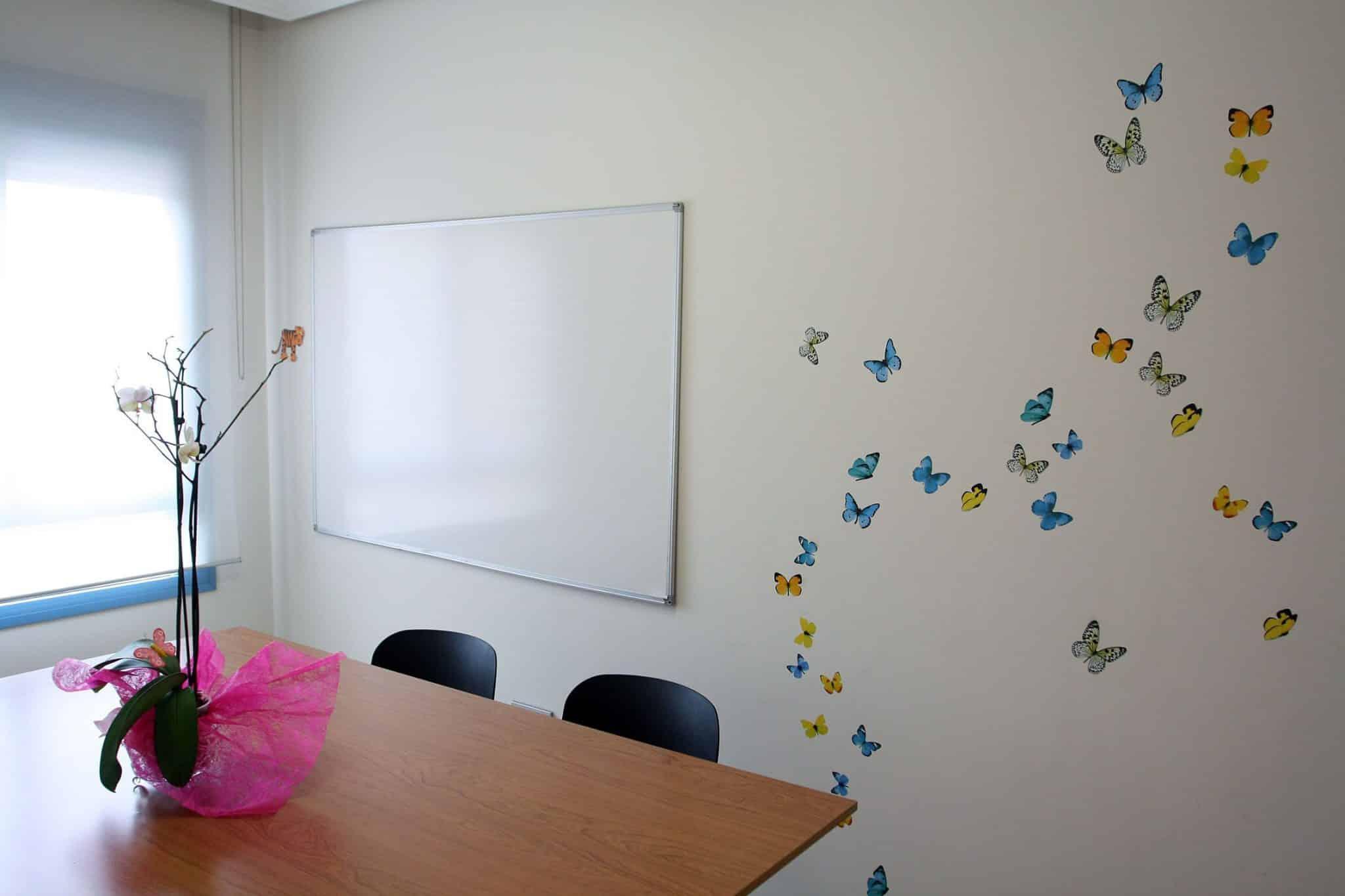 Sala de docencia 2 de Consulta 21 psicólogos Málaga