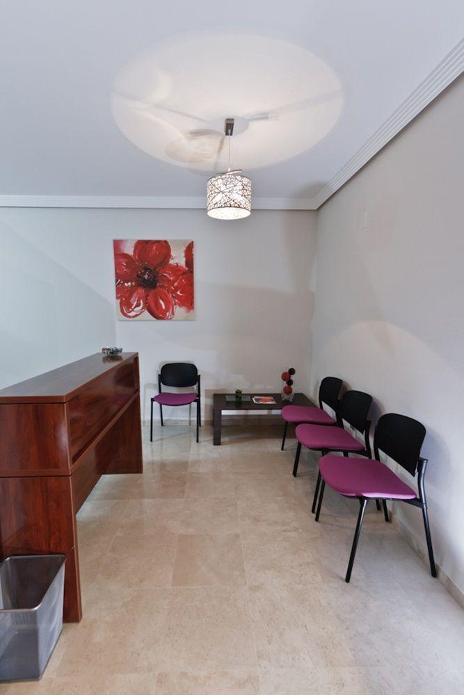 Recepción Consulta 21 psicólogos Málaga