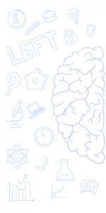 hemisferio izquierdo funciones
