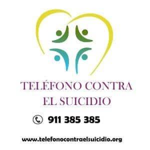 teléfono contra el suicidio asociación barandilla