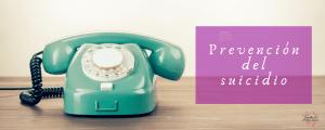 Teléfonos prevención suicidios España