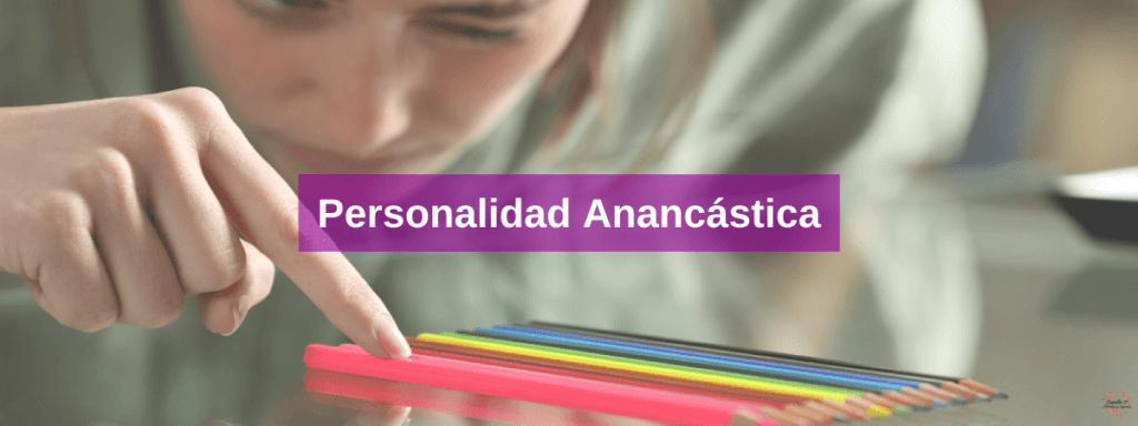 Personalidad anancastica